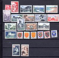 1953-56  France, Timbres Neufs Avec Charnière,  Entre 940 Et 1088*, Cote 189 €, - France