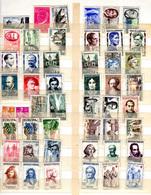 1957-58  France, Timbres Neufs Avec Charnière,  Entre 1091 Et 1172*, Cote 90 €, - France