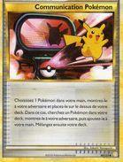 Carte Pokemon 98/123 Communacation Pokemon 2010 - Pokemon