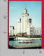 CARTOLINA NV RUSSIA - MOSCA - Tall Building On The Kotelnicheskaya Embankment  - 10 X 15 - Russia