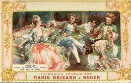 PUBLICITE CURACAO MARIE BRIZARD - Werbepostkarten