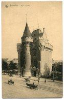 CPA - Carte Postale - Belgique - Bruxelles - Porte De Hal (SV5978) - Monumenten, Gebouwen