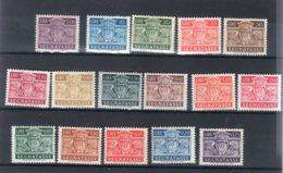San Marino 1945 - Segnatasse / Tax ( Sass.65/80) - **MNH /VF - Segnatasse