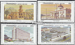 Südafrika - Transkei 111-114 (kompl.Ausg.) Postfrisch 1982 Umtata - Transkei