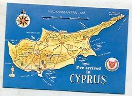 CYPRUS - AK 335339 Map - Cyprus