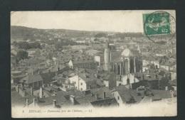 Epinal - Panorama Pris Du Chateau    -  Xg77 - Epinal