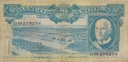 BILLET  ANGOLA  50 ESCUDOS - Angola