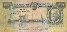 BILLET  ANGOLA  20 ESCUDOS - Angola