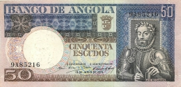 BILLET  ANGOLA  1973  50  ESCUDOS - Angola