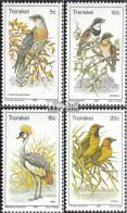 Südafrika - Transkei 75-78 (kompl.Ausg.) Postfrisch 1980 Vögel - Transkei