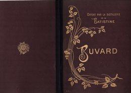 Buvard Porte Document De 4 Pages Buvard N°3 De La Distillerie BATISTINE à Cambrai Années 1902? - Liquor & Beer