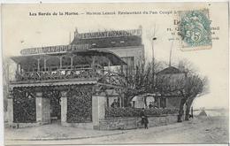 94 SAINT-MAUR-DES-FOSSES . Maison Lescot , Bords De Marne , Restaurant Du Pan Coupé , édit :O R , écrite , état Extra - Saint Maur Des Fosses