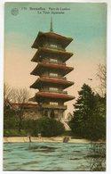CPA - Carte Postale - Belgique - Bruxelles - Parc De Laeken - La Tour Japonaise - 1929 (SV5980) - Laeken