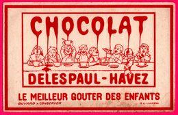 BUVARD - Le Meilleur Goûter Des Enfants - Chocolat DELESPAUL HAVEZ - R.C. Lille - Cocoa & Chocolat