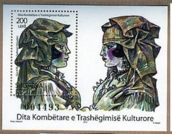 Albania Stamps 2010. NATIONAL DAY OF CULTURAL HERITAGE - Block MNH - Albania