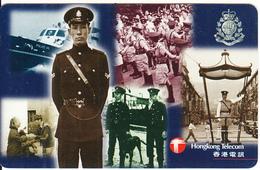 HONG KONG - Royal Hong Kong Police 2, HKT Prepaid Card $100, Used - Hong Kong