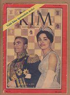 AC -  REZA SHAH PAHLAVI AND DIBA 16 JUNE 1961 KIM MAGAZINE - Books, Magazines, Comics
