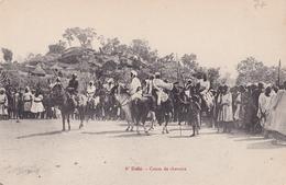 CONGO  N DELLE  Cours De CHEVAUX ( Plan Animé ) - Congo Francese - Altri