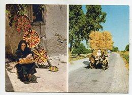 CYPRUS - AK 335372 Colourful Strawwork - Cyprus