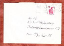 Brief, EF Unfallverhuetung Unten Geschnitten, MS Platz An Der Sonne Berlin 1976 (58811) - Berlin (West)
