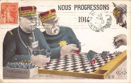 NOUS PROGRESSONS 1914 - Guerre 1914-18