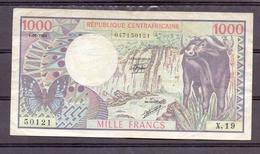 Republique Centrafricaine  1000 Fr  1984 - República Centroafricana