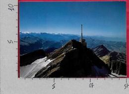 CARTOLINA NV SVIZZERA - Santisgipfel Von Osten - Ristorante Panoramico - 10 X 15 - AR Appenzell Rhodes-Extérieures
