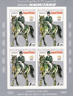 Mauritania Nº Michel 970 Al 975 En Hojas De 4 Series - Summer 1992: Barcelona