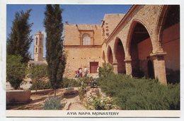 CYPRUS - AK 335399 Ayia Napa - Monastery - Cyprus