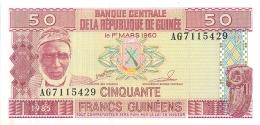 BILLET GUINEE 50 FRANCS GUINEENS 1960 - Guinée