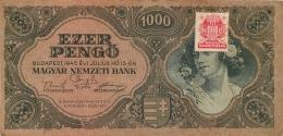 BILLET   HONGRIE 1945  1000 EZER PENGO - Hungary