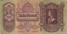 BILLET   HONGRIE 1930  100 SZAZ PENGO - Hungary