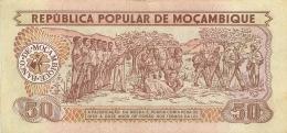BILLET  MOZAMBIQUE  50 METICAIS - Mozambique