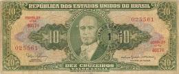 BILLET  BRASIL BRESIL 10   DEZ CRUZEIROS - Brazil