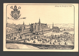 Floreffe - Abbaye De Floreffe En 1740 - Papier Avec Structure - Illustration V. Frison - Floreffe