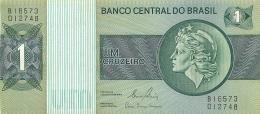 LOT DE 4  BILLETS   BRASIL BRESIL 1  UM  CRUZEIRO - Brazil