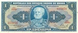 BILLET   BRASIL BRESIL 1  UM  CRUZEIRO - Brazil
