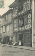 47)  CASTELJALOUX  -Maisons Du XVe Siècle  (  Magasin  ) - Casteljaloux