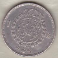 Sweden 1 Krona 1949 TS Gustaf V , En Argent . KM# 814 - Suède