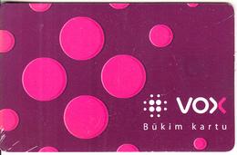 LITHUANIA(chip) - Vox 50(2012), Bukim Kartu, Tirage 50000, Used - Lithuania