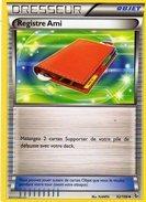 Carte Pokemon 92/106 Registre D'ami 2014 - Pokemon