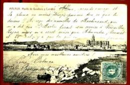MALAGA - Muelle De Guadiaro Y Catedral - Málaga