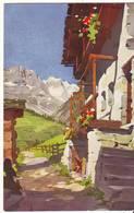 Cpa Grande Muraille Vue De Valtournanche - Italia
