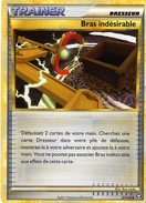 Carte Pokemon 87/102 Bras Indesirable 2011 - Pokemon