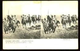 Cavalerie Indienne Sur Le Front Aux Environs D' ALBERT -  (plan Animé Stéréoscopique) - Edit. : LL - Guerra 1914-18
