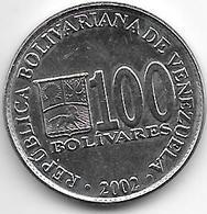 Venezuela 100 Bolivares  2002  Km 83 - Venezuela
