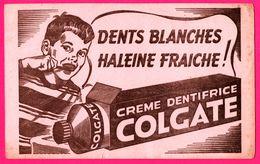 BUVARD - Dentifrice COLGATE - Dents Blanches - Haleine Fraîche ! - Crème Dentifrice - Garçon - Perfume & Beauty