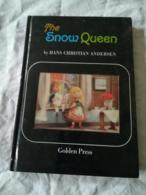 Livre Pour Enfant 'LA REINE DES NEIGE' - THE SNOW QUEEN - EN ANGLAIS - Editeur Golden Press - SHIBA Productions - Children's