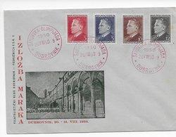 Yugo-Slavia 1950; Chess Ajedrez Olympiad Cancel On Cover - Ohne Zuordnung