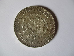 Mexico: 1 Peso 1965 (silver) - Mexico